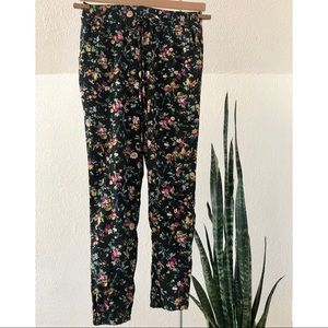 Lounge Floral Pants
